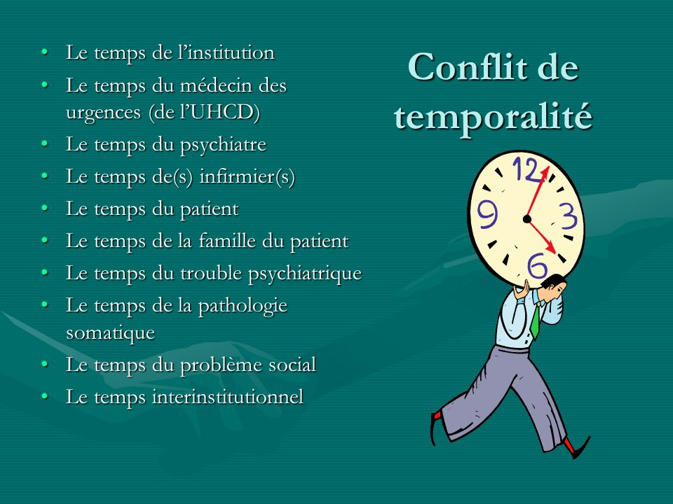 Conflit de temporalité