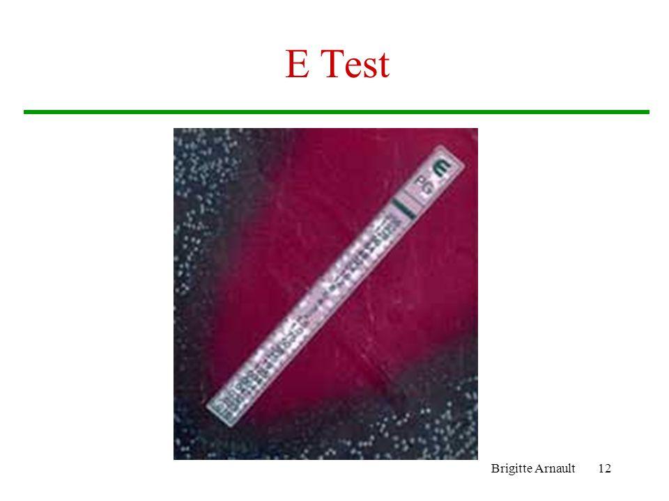 E Test Brigitte Arnault