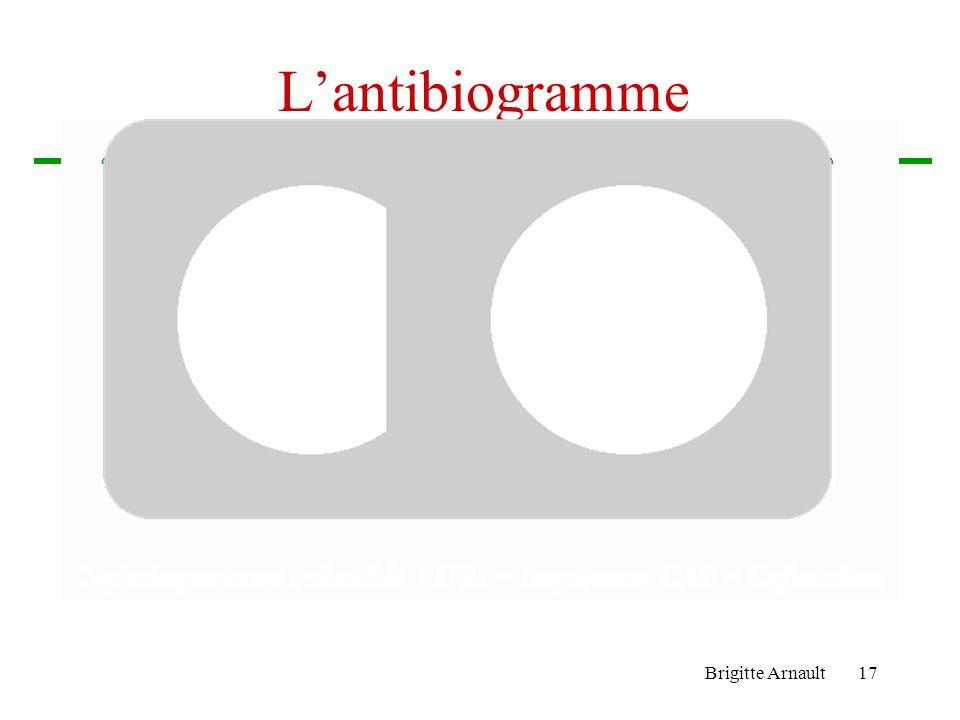 L'antibiogramme Brigitte Arnault