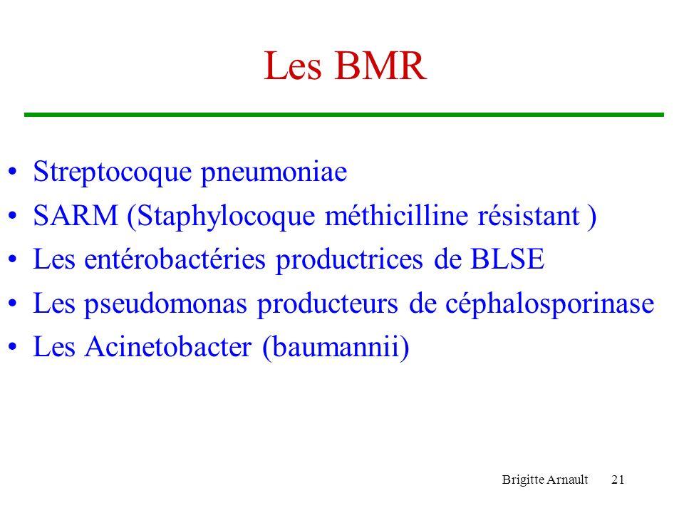 Les BMR Streptocoque pneumoniae