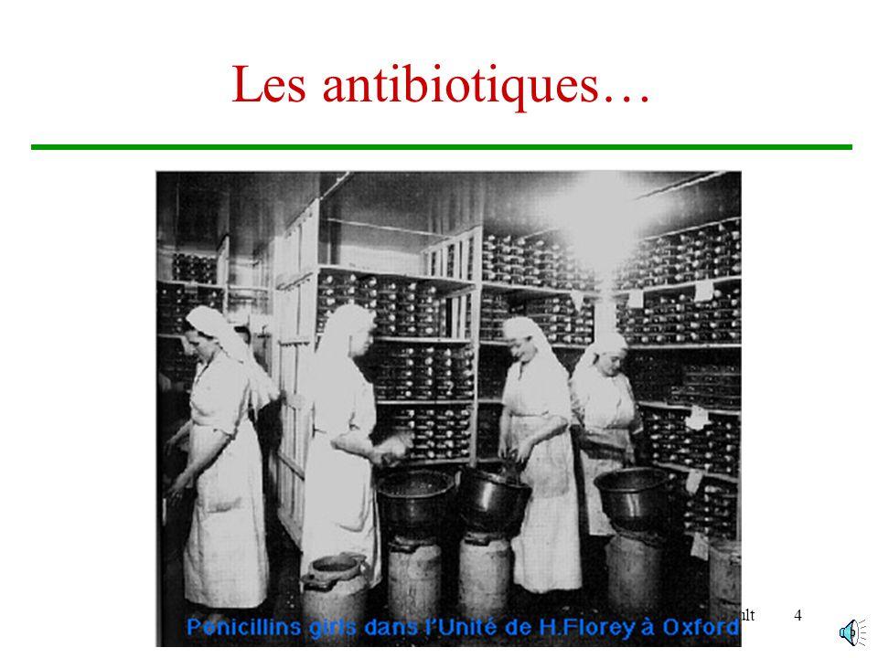 Les antibiotiques… Brigitte Arnault