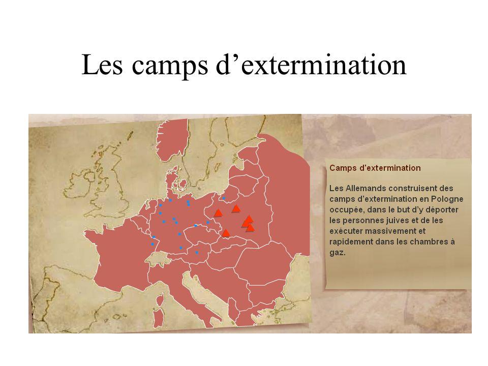 Les camps d'extermination
