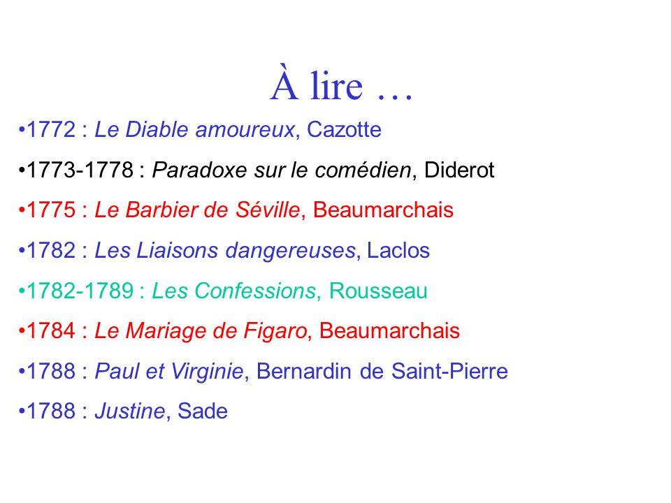 À lire … 1772 : Le Diable amoureux, Cazotte