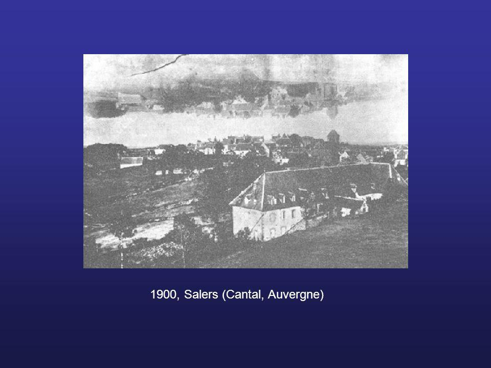 1900, Salers (Cantal, Auvergne)