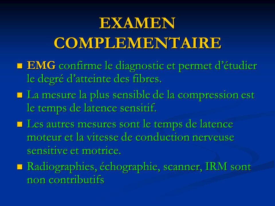 EXAMEN COMPLEMENTAIRE