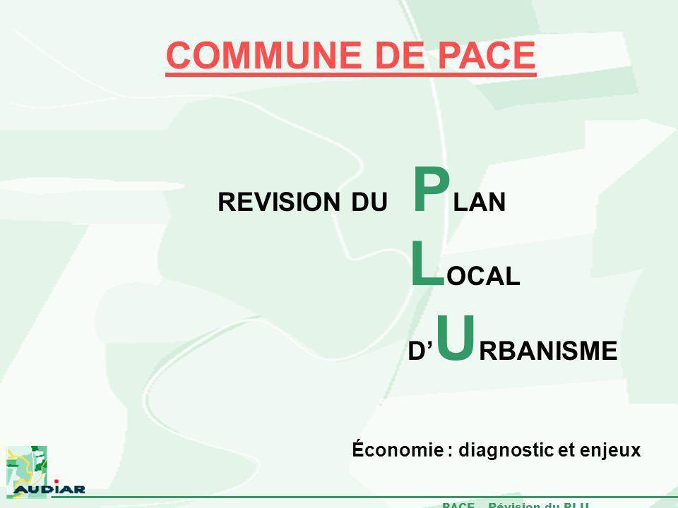 LOCAL COMMUNE DE PACE REVISION DU PLAN D'URBANISME