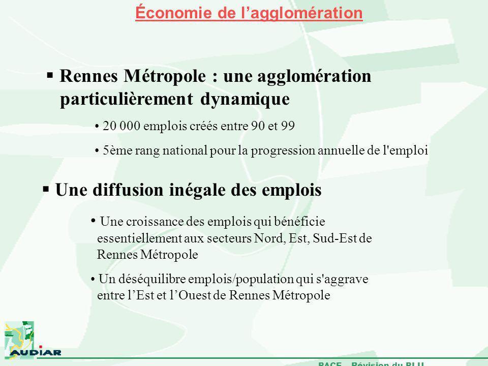 Rennes Métropole : une agglomération particulièrement dynamique