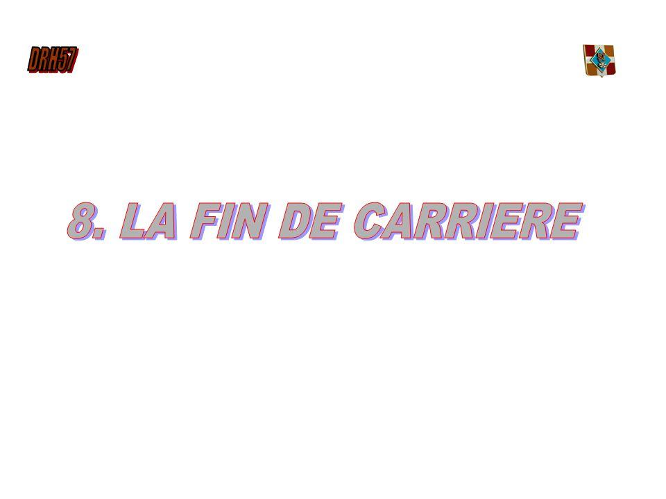 8. LA FIN DE CARRIERE