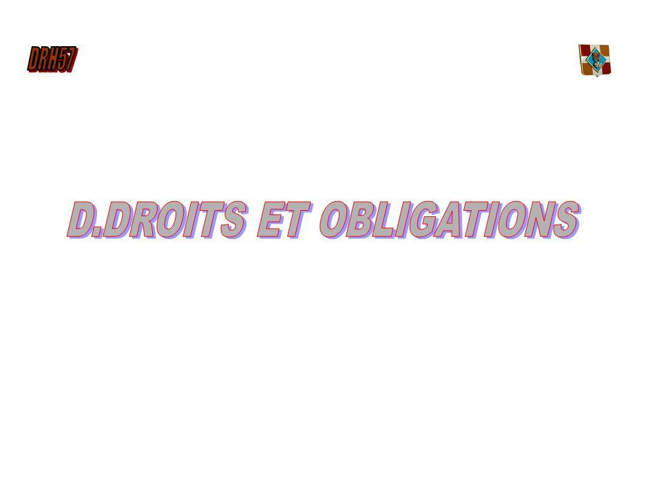 D.DROITS ET OBLIGATIONS