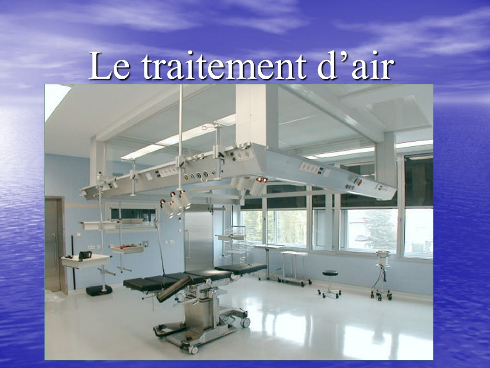 Le traitement d'air