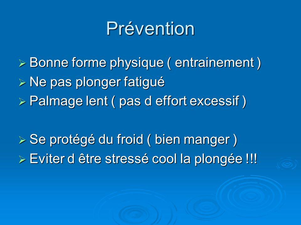 Prévention Bonne forme physique ( entrainement )