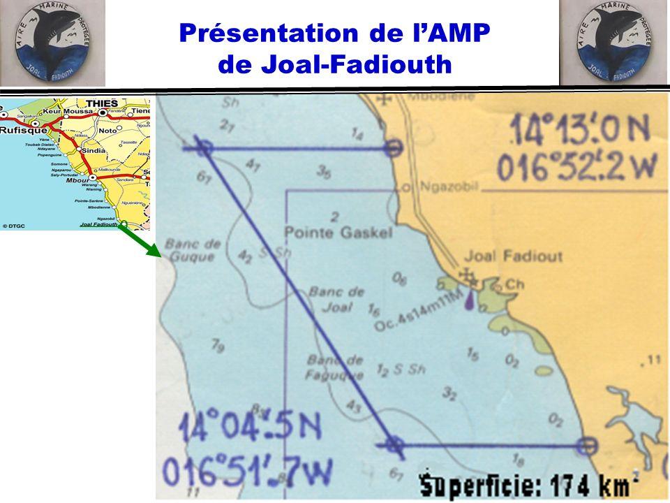 Présentation de l'AMP de Joal-Fadiouth