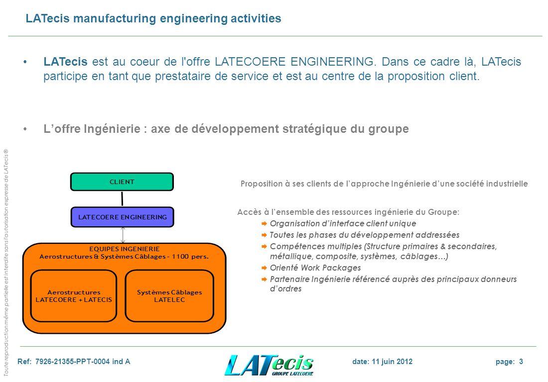 L'offre Ingénierie : axe de développement stratégique du groupe