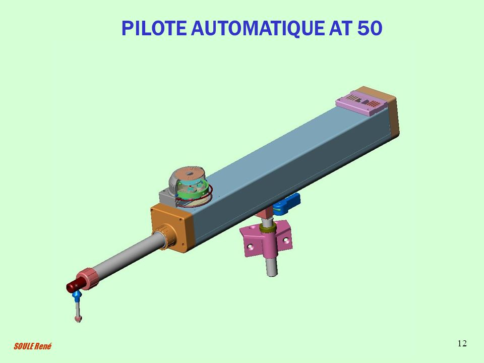PILOTE AUTOMATIQUE AT 50 SOULE René