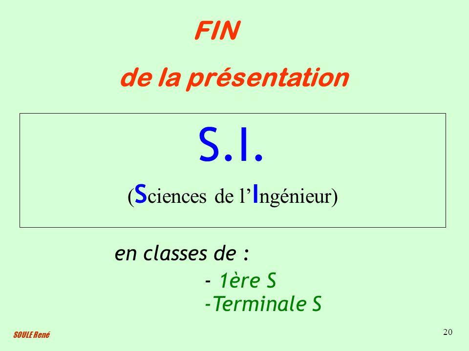(Sciences de l'Ingénieur)