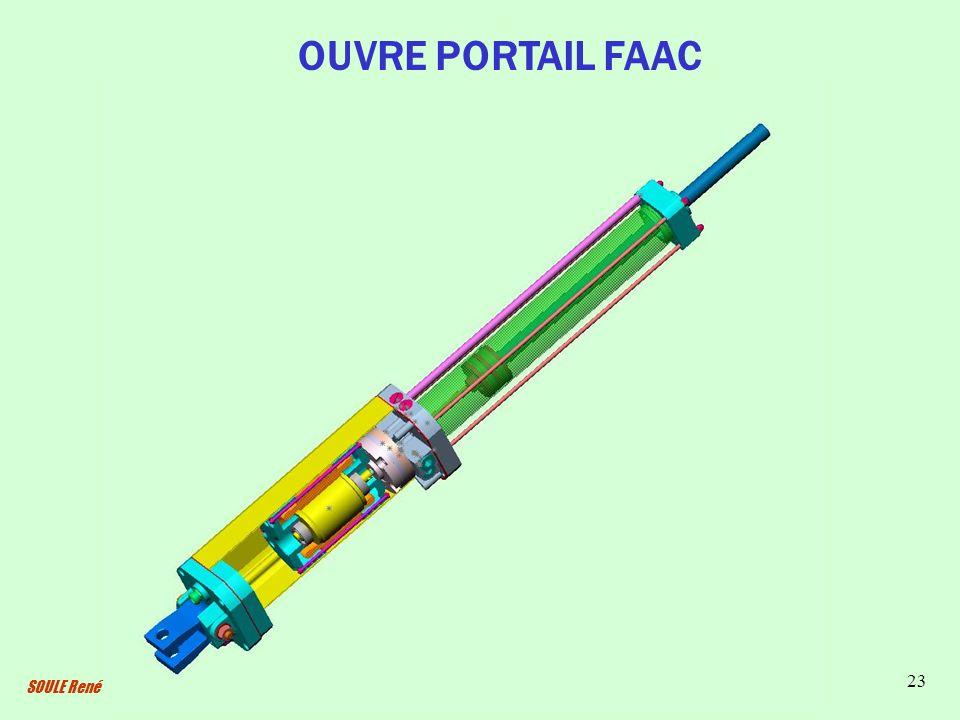 OUVRE PORTAIL FAAC SOULE René