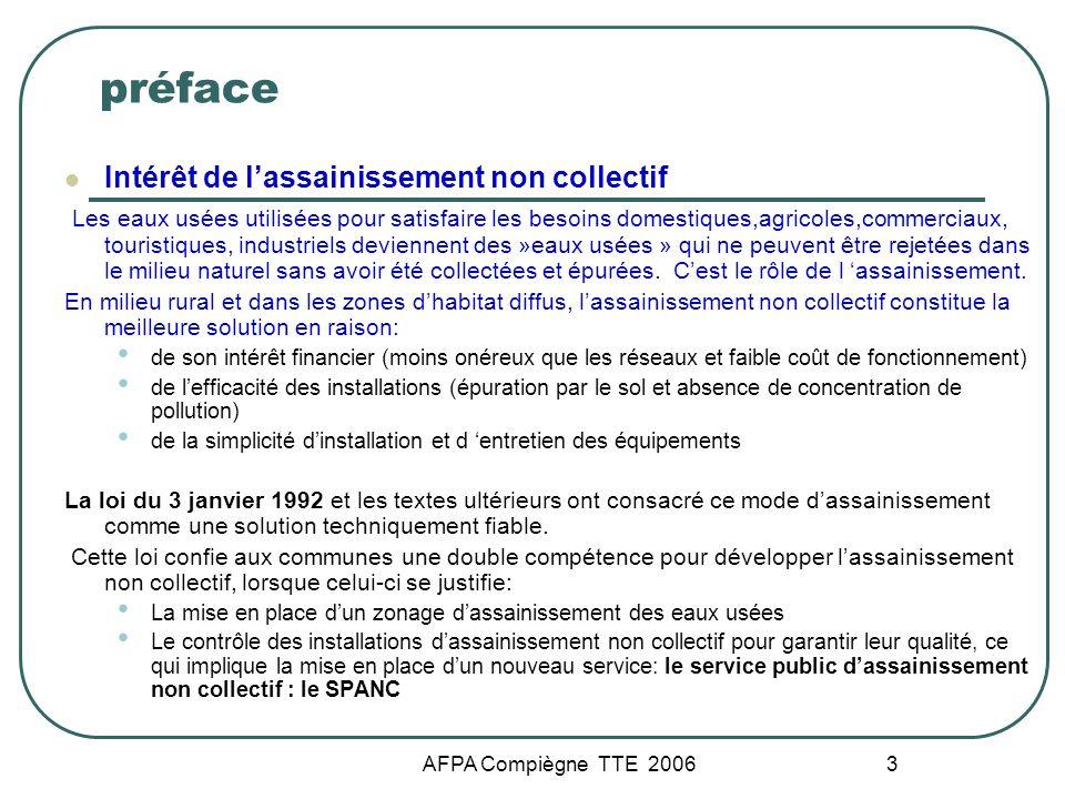 préface Intérêt de l'assainissement non collectif