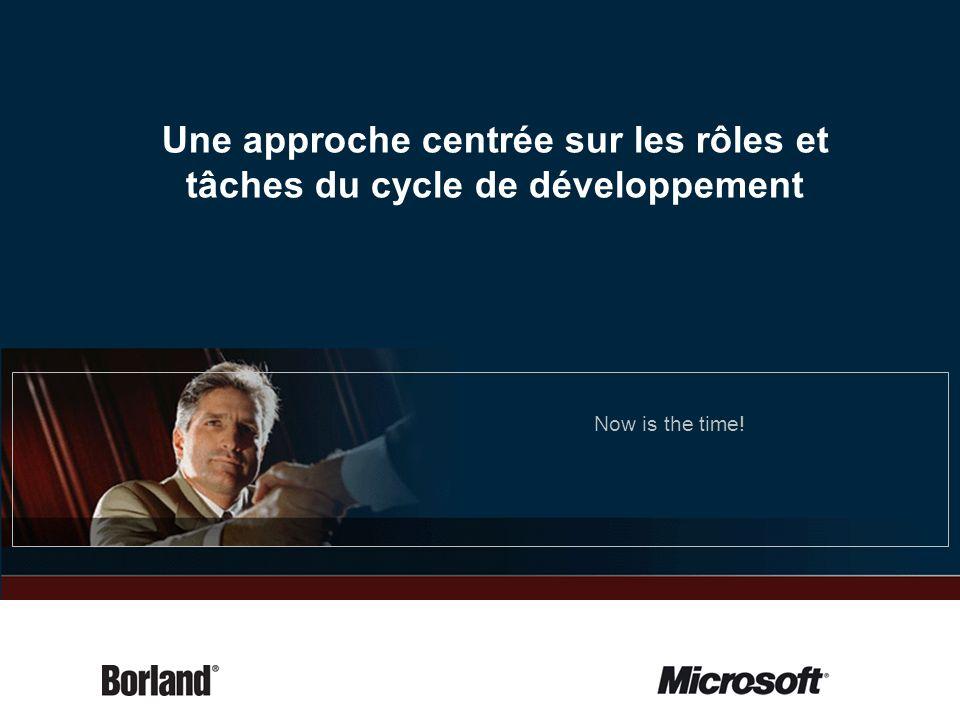Une approche centrée sur les rôles et tâches du cycle de développement