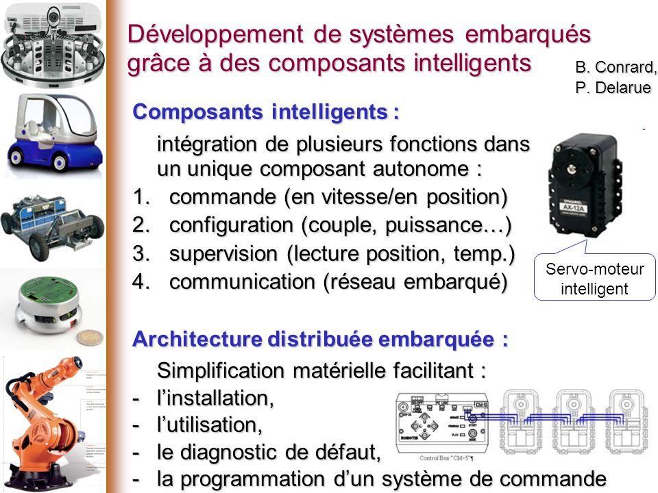 Développement de systèmes embarqués grâce à des composants intelligents