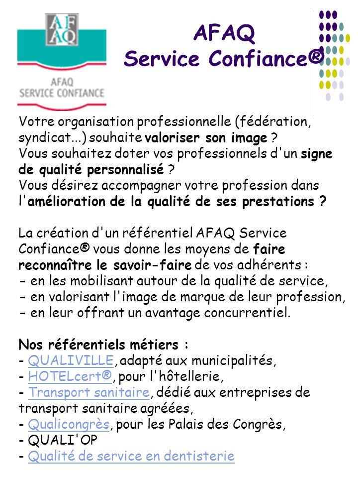AFAQ Service Confiance®