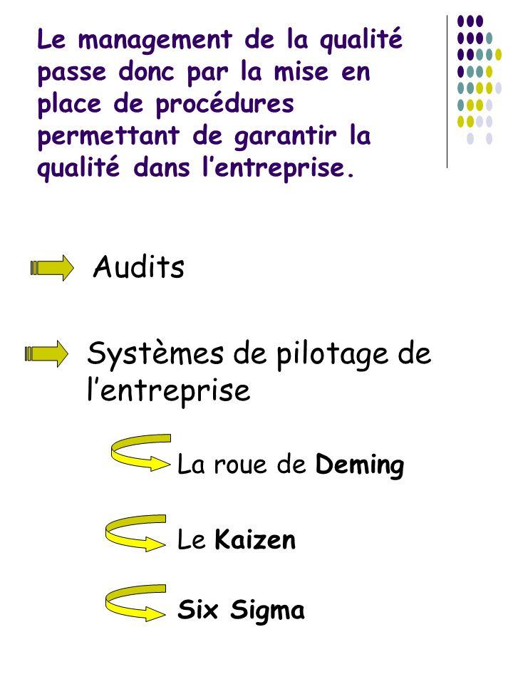 Systèmes de pilotage de l'entreprise