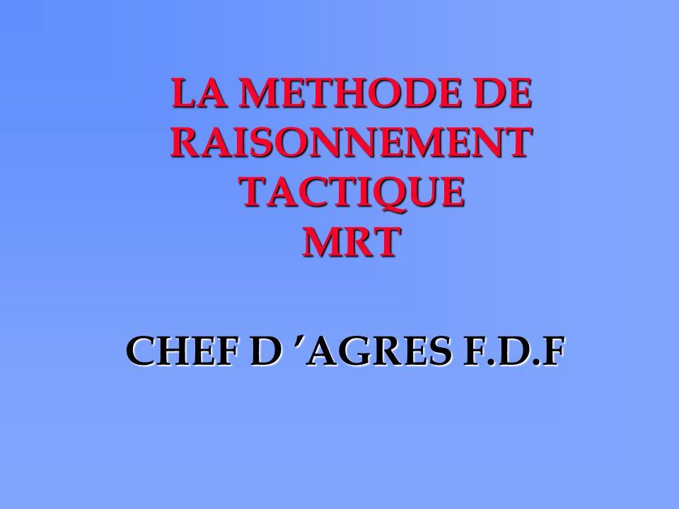 LA METHODE DE RAISONNEMENT TACTIQUE MRT