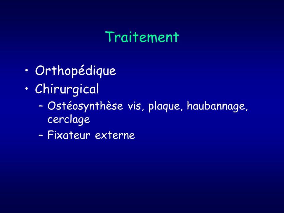 Traitement Orthopédique Chirurgical