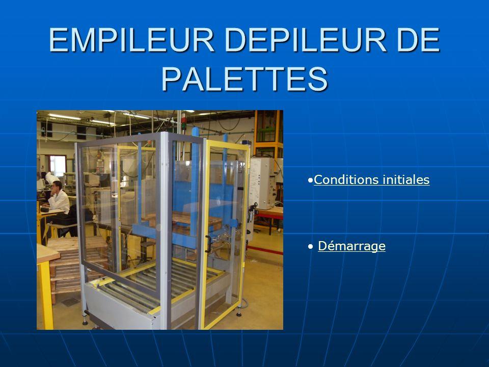 EMPILEUR DEPILEUR DE PALETTES