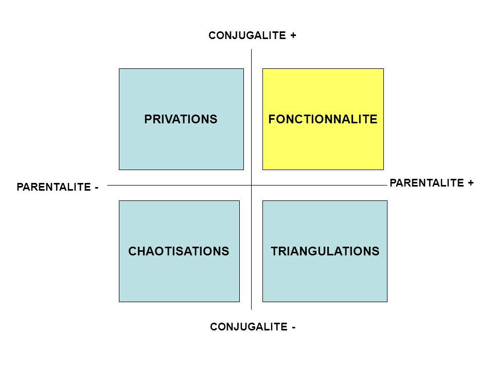 PRIVATIONS FONCTIONNALITE CHAOTISATIONS TRIANGULATIONS