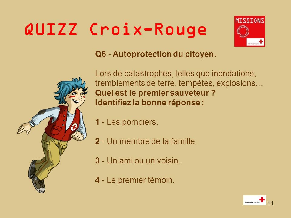 Q6 - Autoprotection du citoyen.