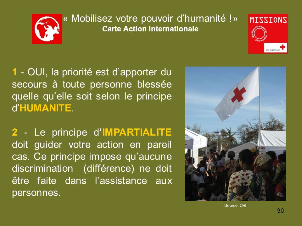 Carte Action Internationale
