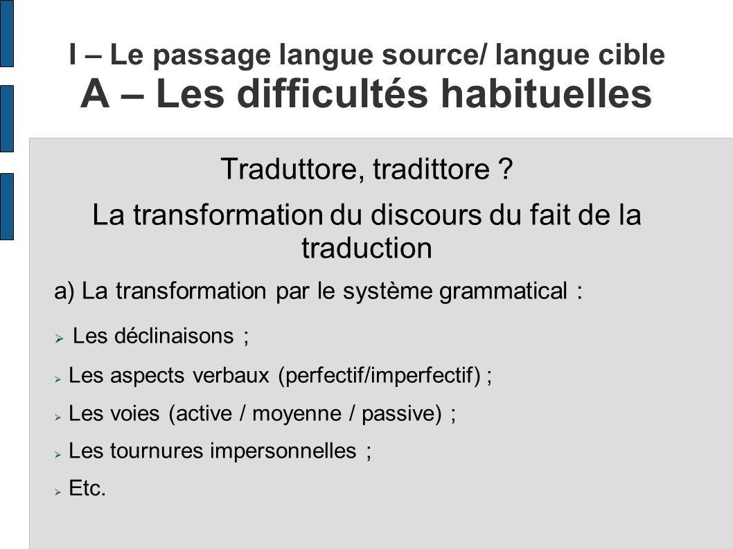 Traduttore, tradittore