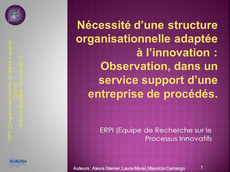 ERPI (Equipe de Recherche sur le Processus Innovatifs