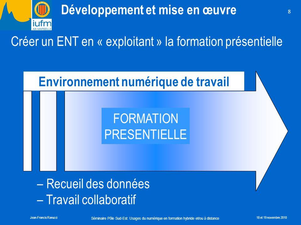 Environnement numérique de travail