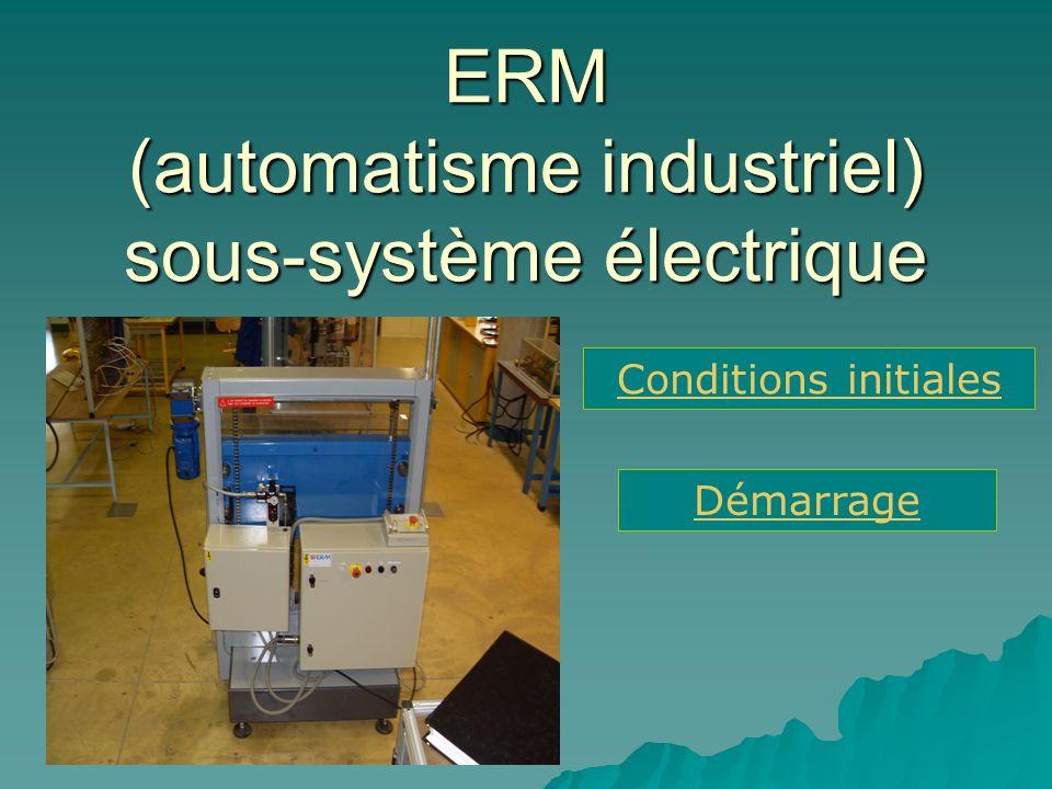 ERM (automatisme industriel) sous-système électrique
