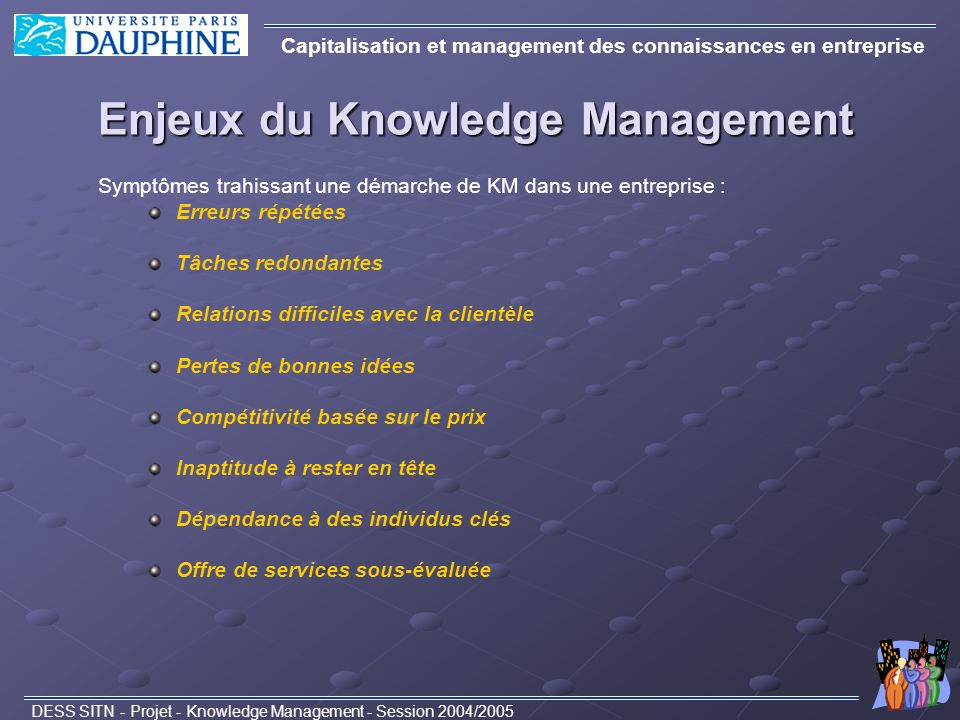 Enjeux du Knowledge Management