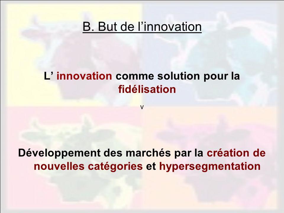 L' innovation comme solution pour la fidélisation