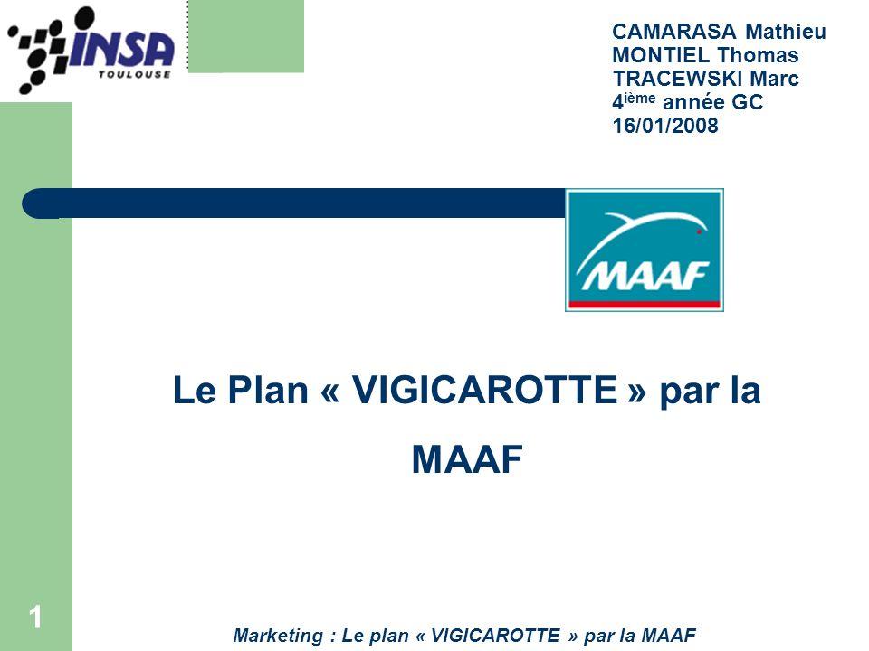 Le Plan « VIGICAROTTE » par la MAAF