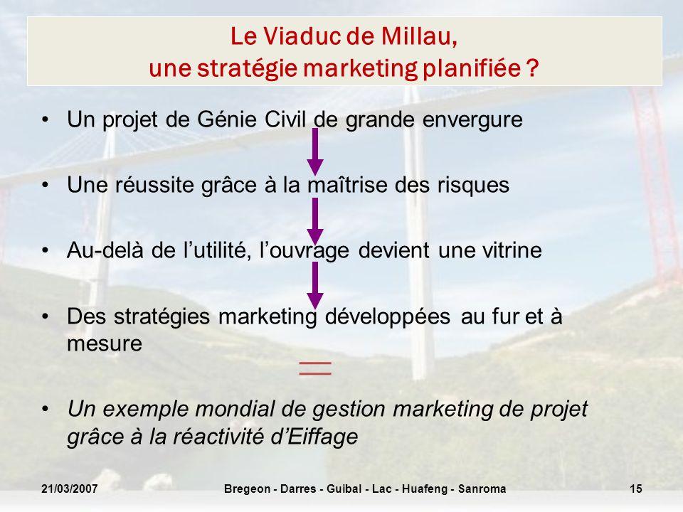 Le Viaduc de Millau, une stratégie marketing planifiée