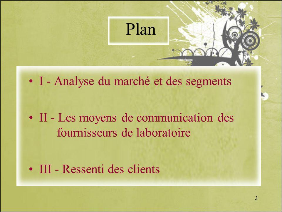 Plan I - Analyse du marché et des segments