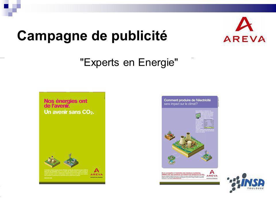 Campagne de publicité Experts en Energie