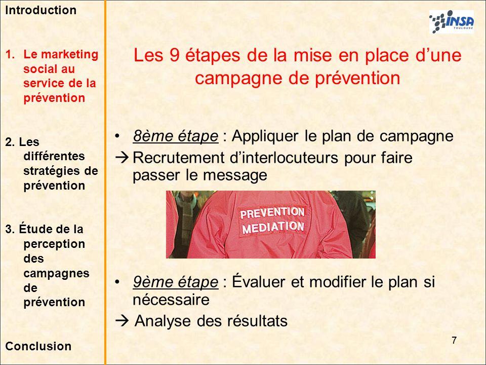 Les 9 étapes de la mise en place d'une campagne de prévention