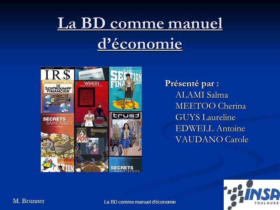 La BD comme manuel d'économie