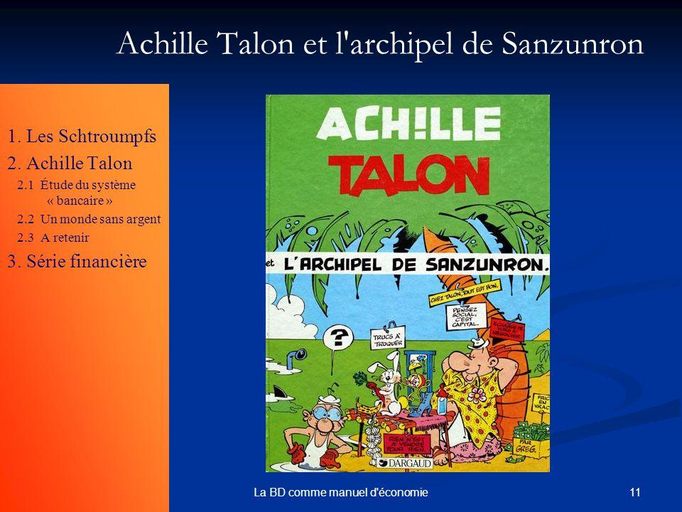 Achille Talon et l archipel de Sanzunron