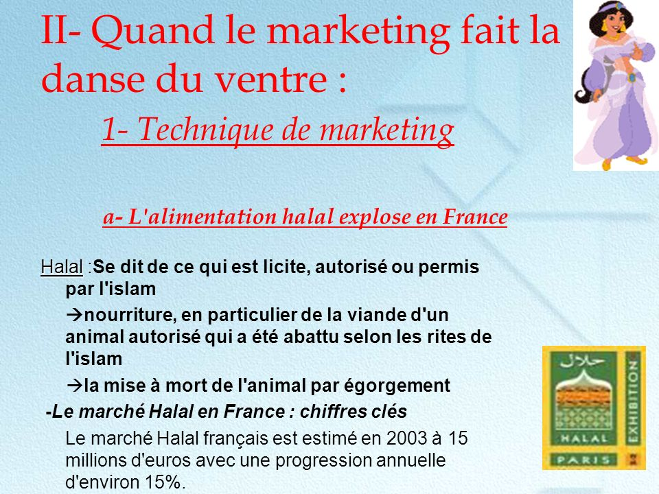 II- Quand le marketing fait la danse du ventre : 1- Technique de marketing