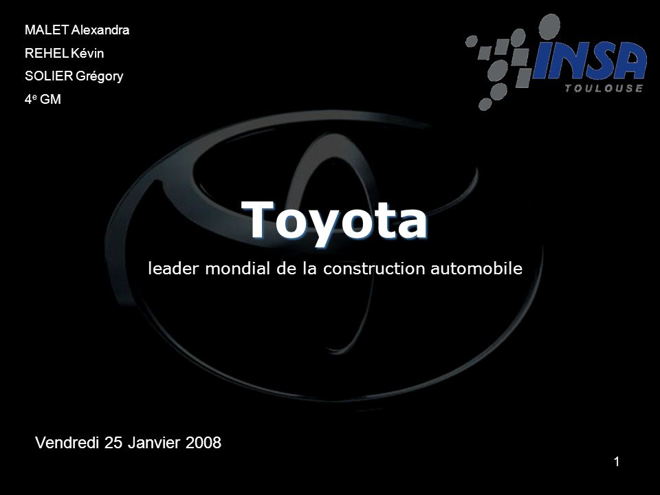 leader mondial de la construction automobile