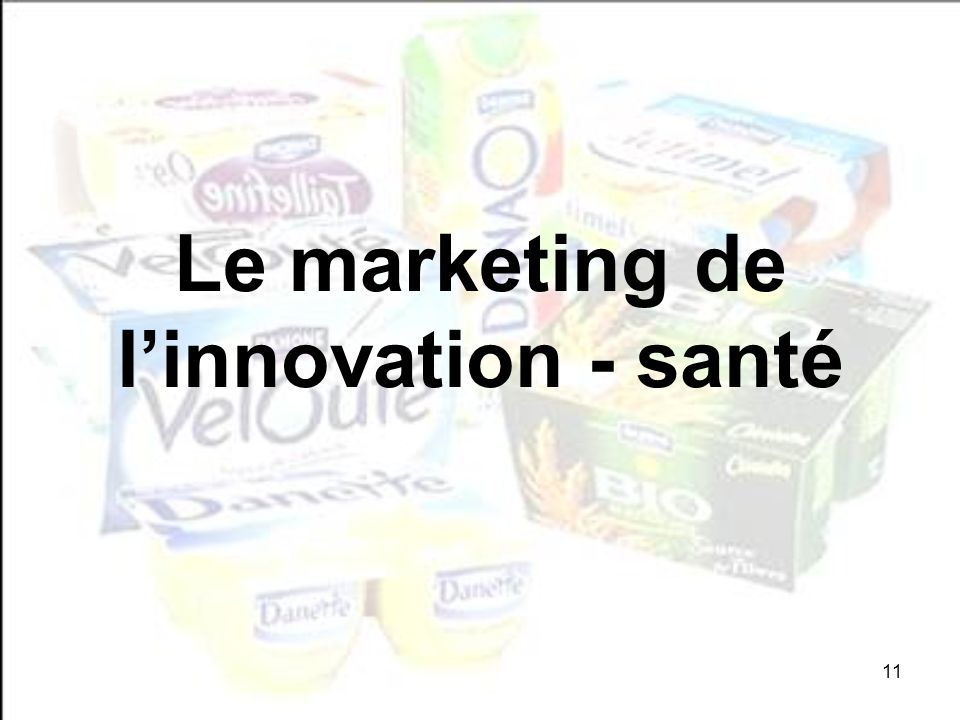 Le marketing de l'innovation - santé