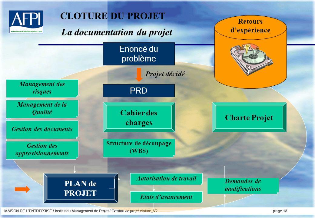 La documentation du projet