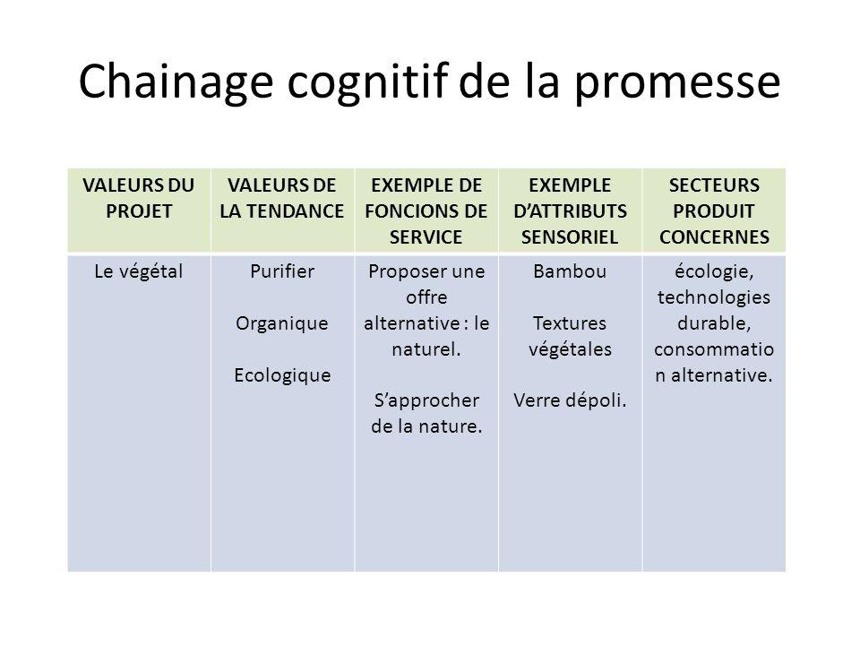 Chainage cognitif de la promesse