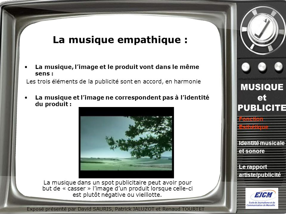 La musique empathique :